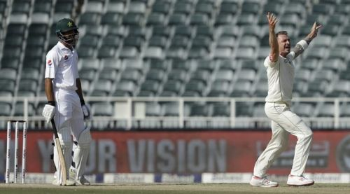 Dale Steyn took two wickets late in day