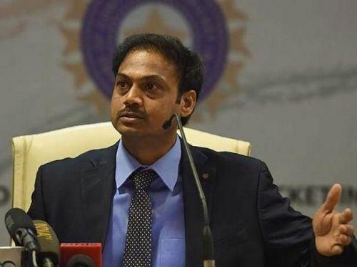 MSK Prasad, head of the selectors