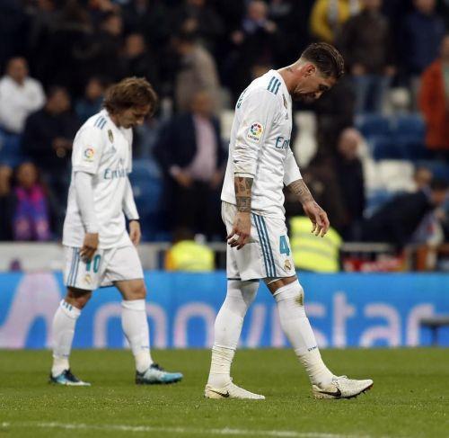 Real Madrid's season looks vague