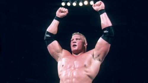 Brock Lesnar won the 2003 Royal Rumble.
