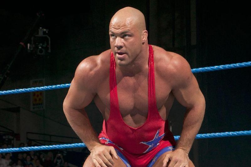 Kurt Angle is a WWE Hall of Famer.