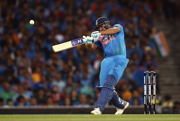 Rohit Sharma smashed his 200th ODI six during the home series vs Windies