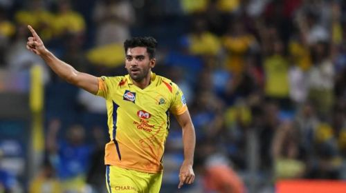 Chahar was exceptional with the new ball