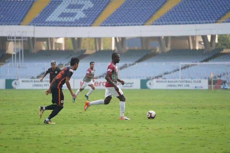The Mariners continued to penetrate NEROCA defence ceaselessly from the very beginning
