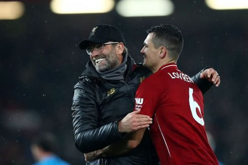 Klopp has publicly expressed his admiration for Lovren