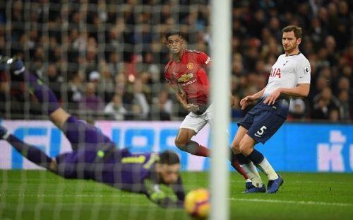 Rashford's brilliant strike helped United overturn Spurs at Wembley.