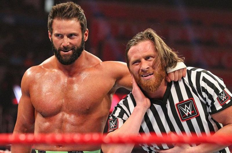 This week on RAW we saw Curt Hawkins in the referee