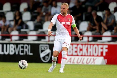 Kamil Glik in action for Monaco