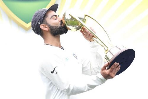 Kohli was also named the captain of both ODI and Test Team of the Year