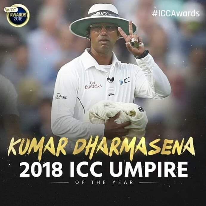 2018 ICC umpire