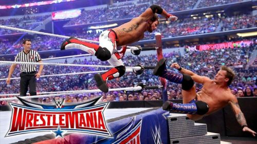 AJ Styles faced Chris Jericho in the Phenomenal One's WrestleMania debut but came up short.