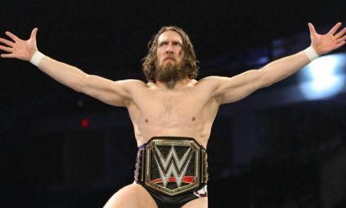 The WWE champion Daniel Bryan