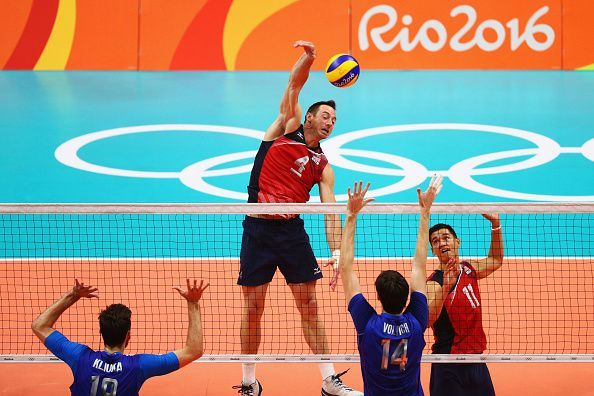 David Lee in action for the USA at the Rio Olympics