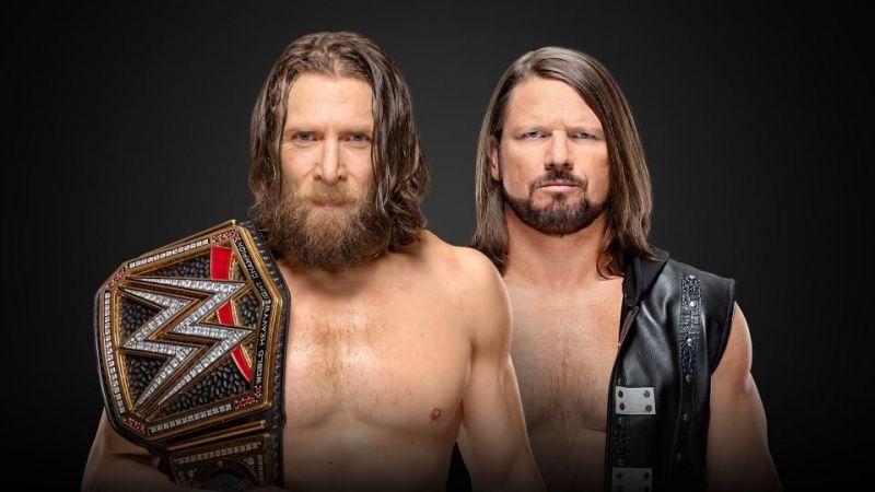 Daniel Bryan vs. A.J. Styles