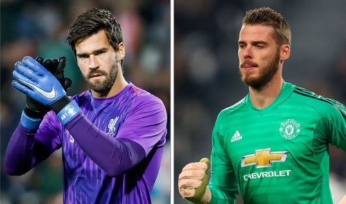 Alisson Becker and David de Gea