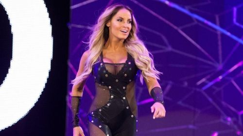WWE Legend Trish Stratus returned to the ring in the 2018 Royal Rumble as entry 30
