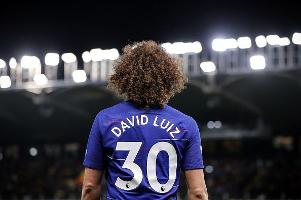 Luiz enjoyed a memorable evening's work at the back, earning an important clean sheet