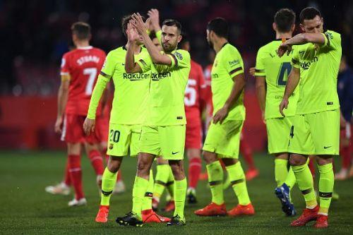 Will Barcelona progress into the semi-finals of the Copa del Rey?