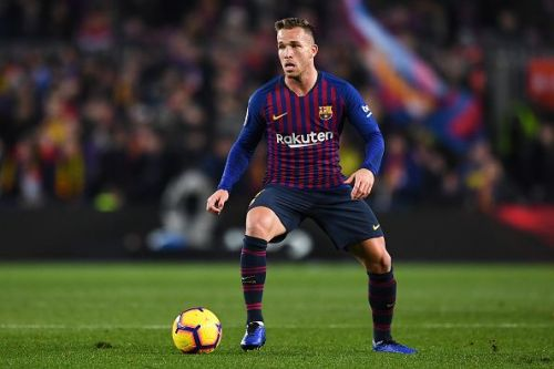 Arthur adds control to Barca's midfield, and has been the preferred option