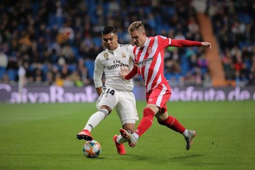 Real Madrid v Girona - Copa del Rey Quarter Final