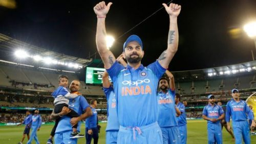 Kohli was exceptional with his captaincy in the series
