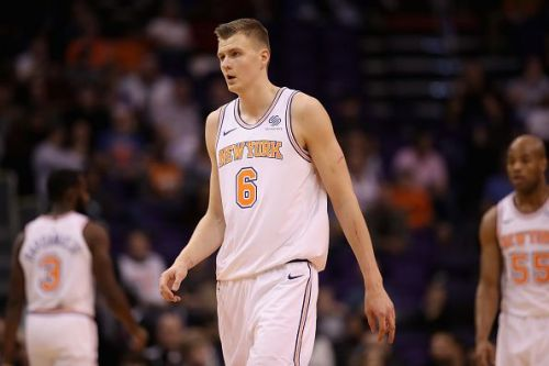 Kristaps Porzingis' future with the New York Knicks is currently