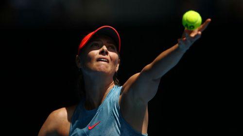 Five-time grand slam champion Maria Sharapova