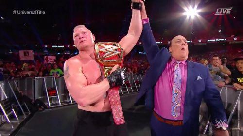 Brock Lesnar snapped Finn Balor's PPV streak.