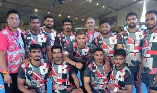 The Indian Railways team emerged as champions (PC: KhelKabaddi, descriptive image)
