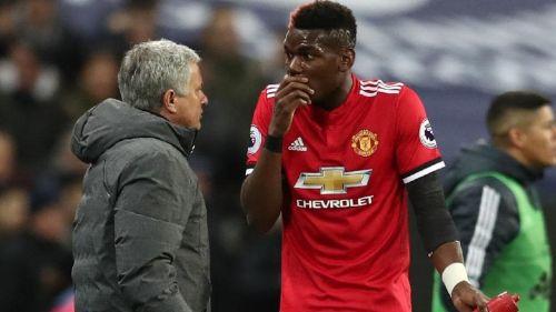 Mourinho fell out with Paul Pogba