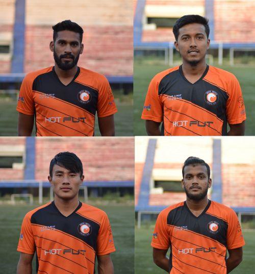 Clockwise - Cletus Dominic Jacob Paul, Sajid Hossain, Subhankar Adhikary, and RungsingMuinao