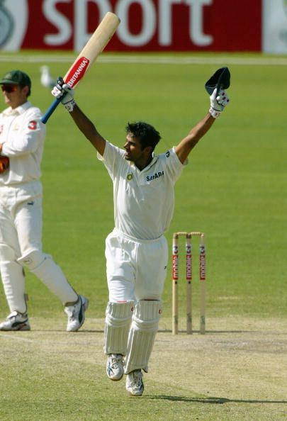 The performance of Indian team in the 2003/4 series was one of the finest chapters in Indian cricket history