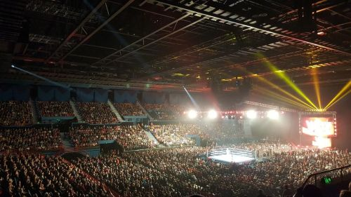 The WWE holds hundreds of live events each year, as well as Televised events.