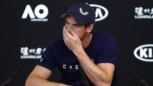 Andy Murray couldn't hold back his tears as he announced his decision