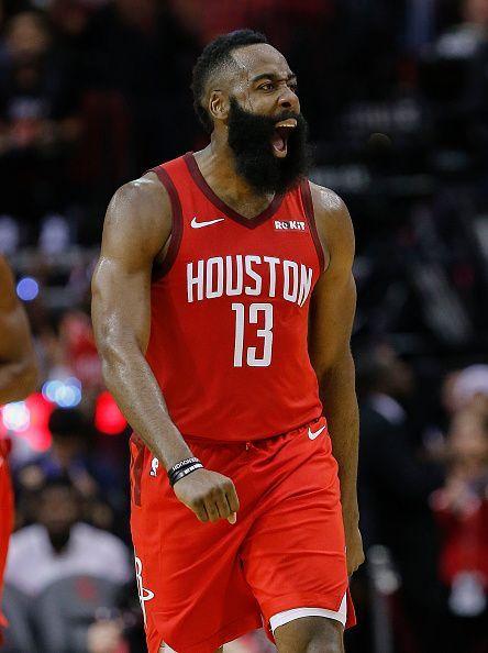 Harden scored 57 points and grabbed nine rebounds