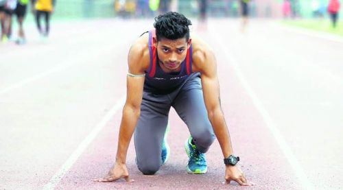 Image result for nisar ahmed 100m