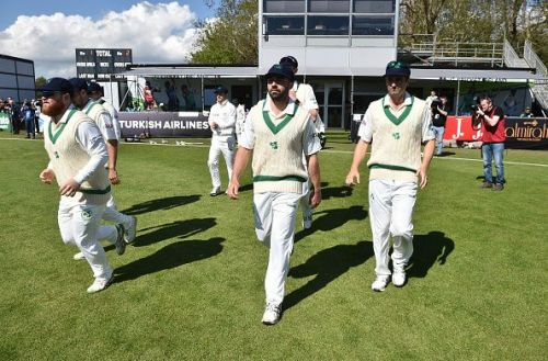 Ireland made their Test debut against Pakistan