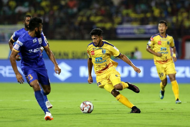 Sahal Abdul Samad will be an important presence in the Blasters midfield.