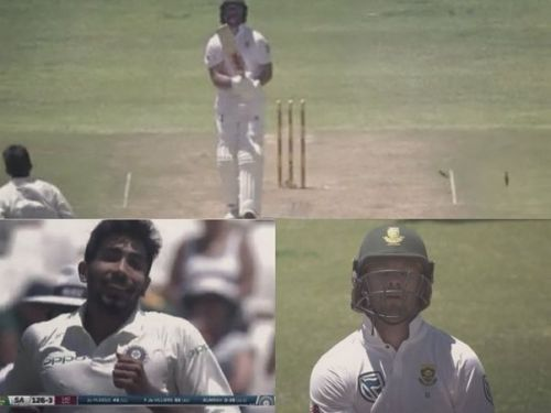 Bumrah completely foxed AB de Villiers with his delivery