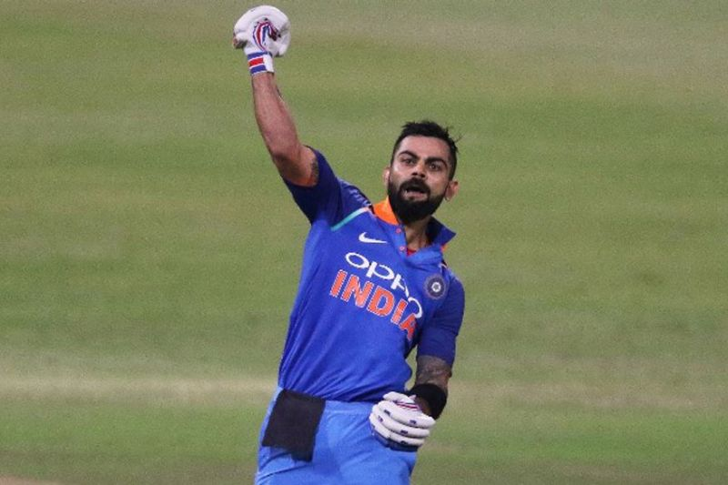 Kohli amassed 558 runs in just six innings at a colossal batting average of 186