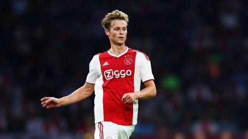 Ajax midfielder Frenkie de Jong