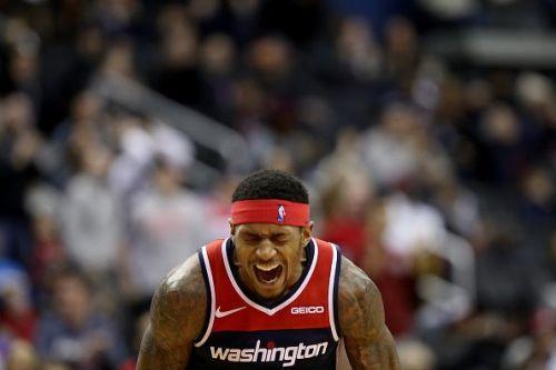 Bradley Beal during the Toronto Raptors v Washington Wizards