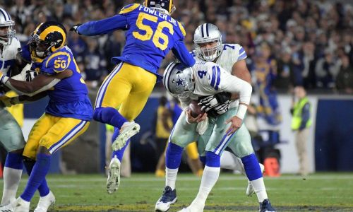 Cowboys season comes to an end as they lose to the LA Rams 30-22 in the NFC Divisional Round - Matt Birch for Sports Daily