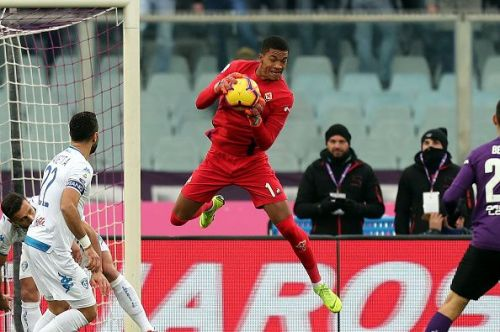 Lafont is a commanding figure in the box