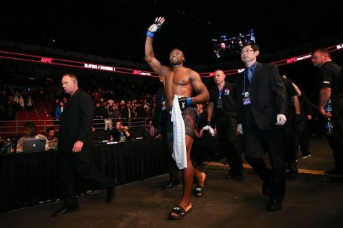 Francis Ngannou defeated his last opponent Curtis Blaydes in moments