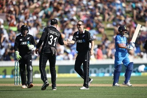 New Zealand v India - ODI Game 4