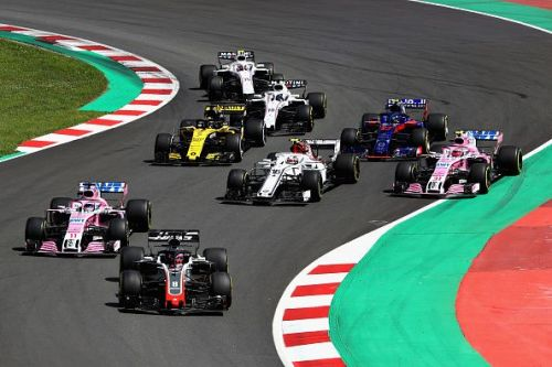 Grosjean would take himself and 2 others out at the start of the Spanish GP.