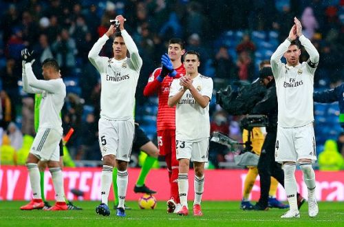 Real Madrid will be looking to build on their winning run