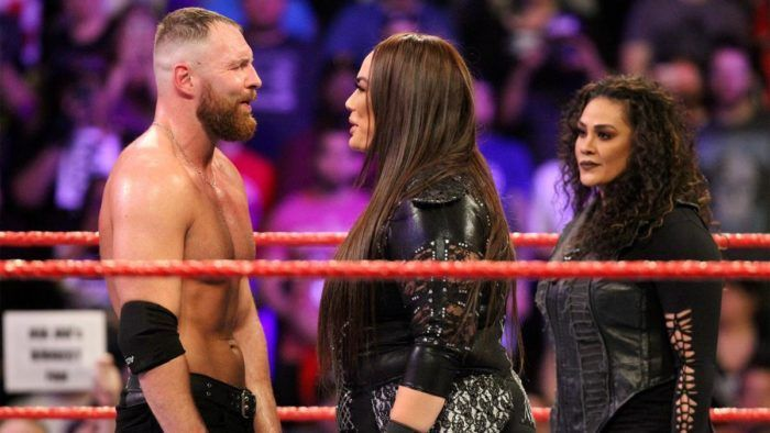 Dean Ambrose was manhandled by Nia Jax on the January 28, Raw