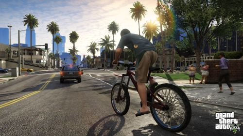 A shot from Grand Theft Auto 5